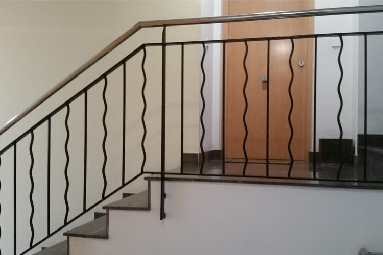 Escalera de Hierro en Portal